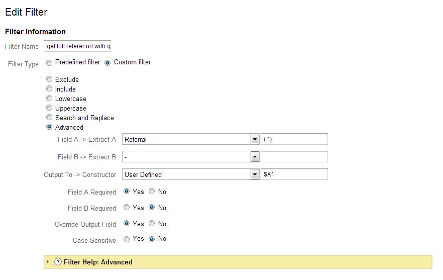 分享个GA小技巧——获取referral的完整URL 11